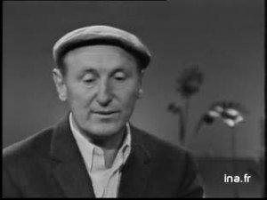 """Bourvil """"Je voudrais bien être ton sac""""', plateau Bourvil, René Louis Lafforgue"""