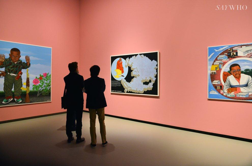 À la Fondation Louis Vuitton, l'art africain traverse les frontières | SAYWHO