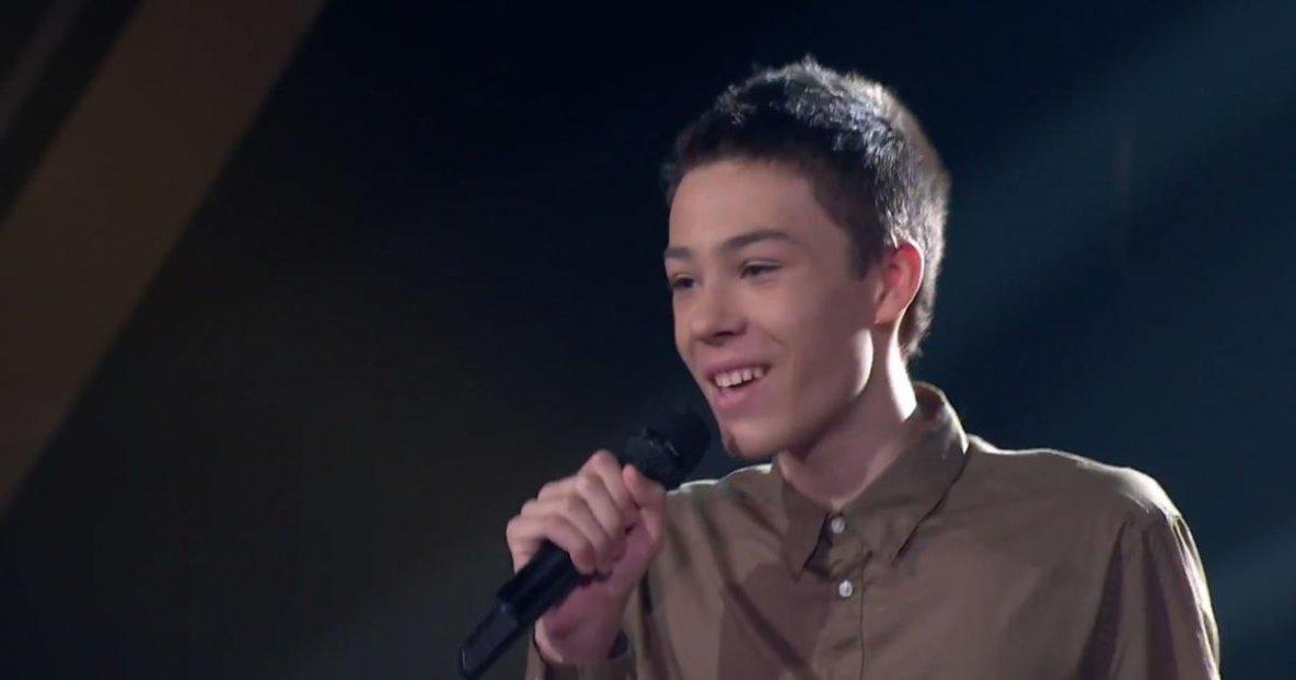 ♫  (ange) Zachary hier  à la Voix Junior 2017 (ange) ♫