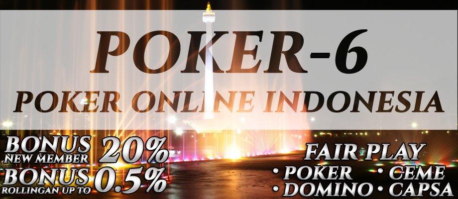Agen Judi Poker Online Indonesia Terbaik 2017