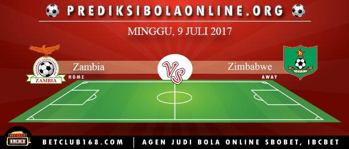 Prediksi Zambia Vs Zimbabwe 9 Juli 2017