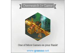 Overwatch Placement Boost - Gramno