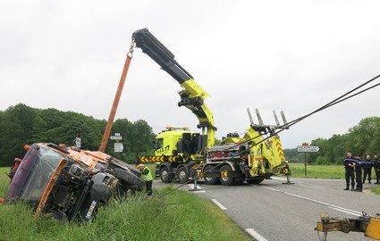 Gurcy-le-Châtel : onze blessés légers dans l'accident de car scolaire