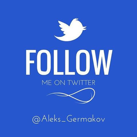 "Александр Гермаков on Instagram: ""#followme on #twitter"""
