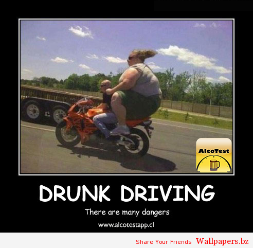 Drive & Drunk xD | Funny Wallpapers