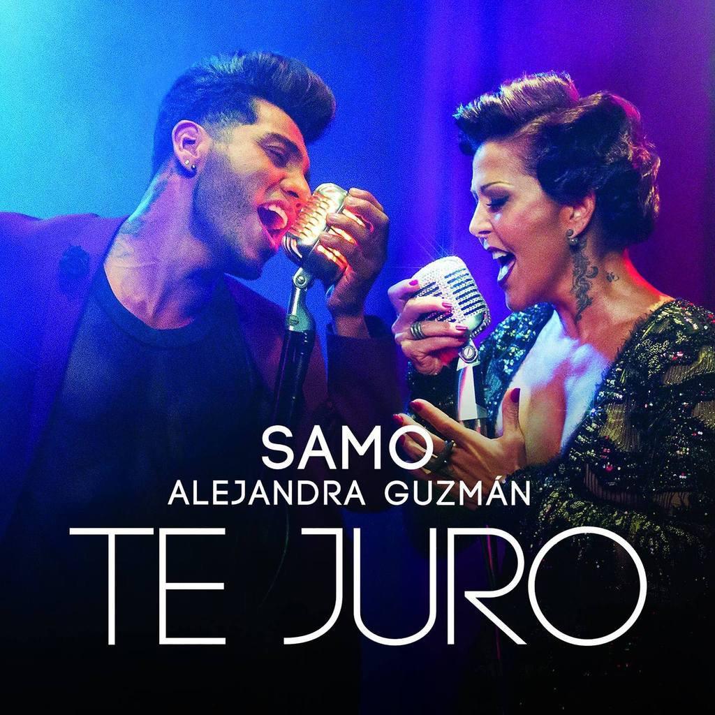 Samo et Alejandra Guzmán  viennent de lancer leur titre  : Te Juro