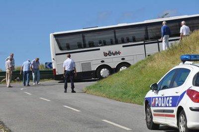 Fécamp : le bus bloqué côte de la Vierge | Paris Normandie