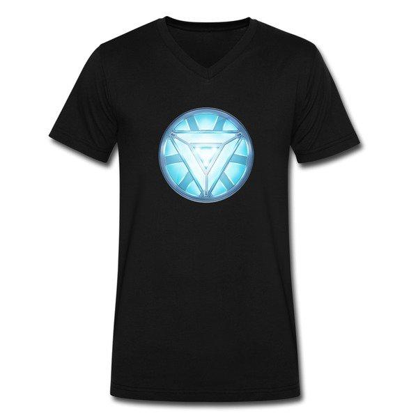 Iron Man Heart Short Sleeve T-shirts on Sale-Funny T-shirts  HICustom
