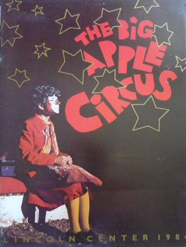 Programme Big Apple Circus 1984 - 1985