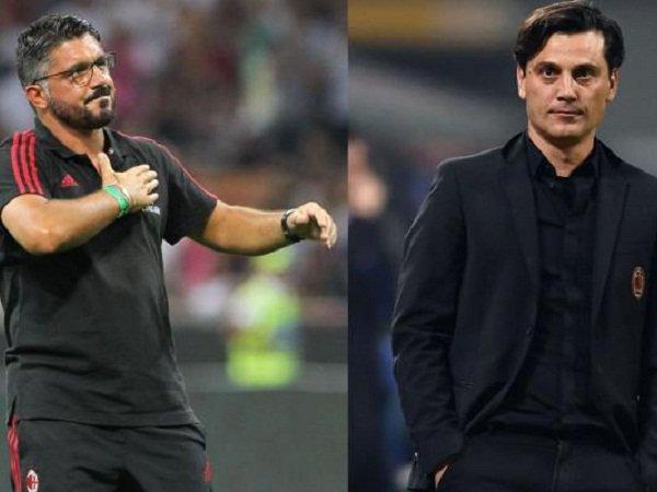 Milan Dikabarkan Akan Pecat Gattuso Dan Tunjuk Kembali Montella