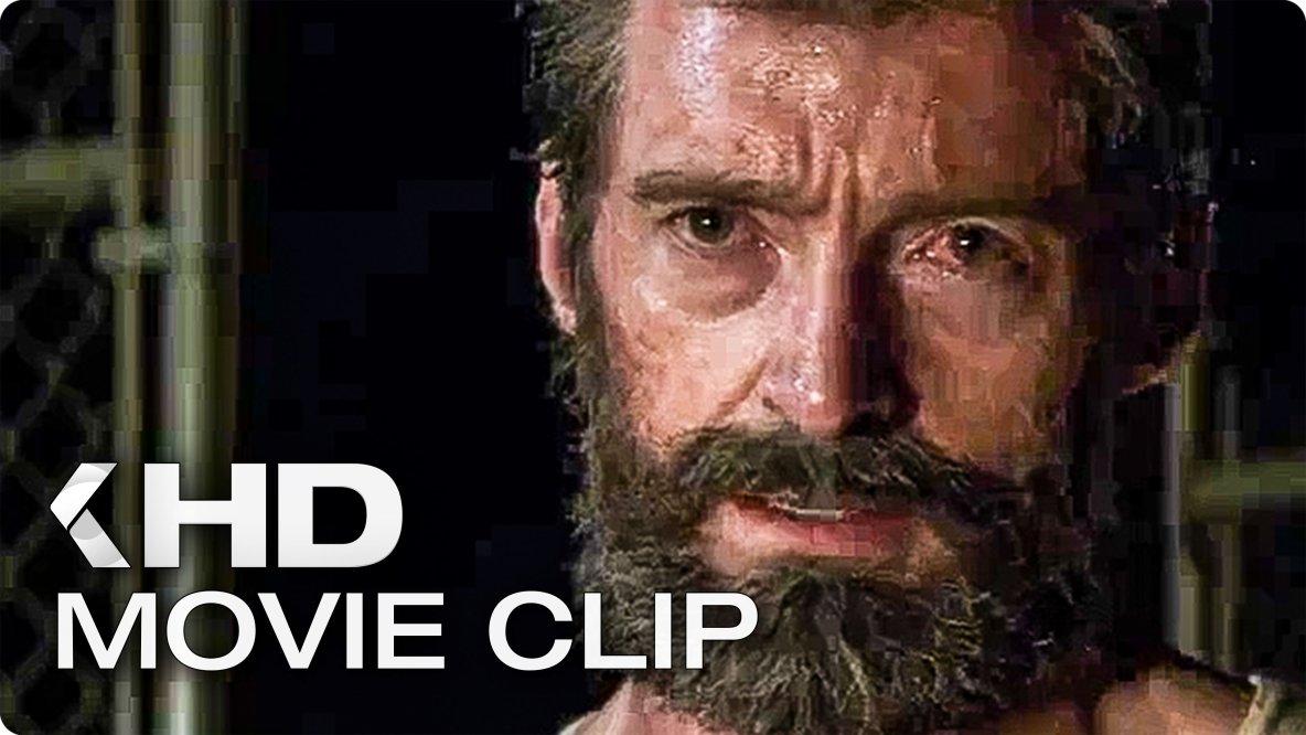 LOGAN Movie Clip & Trailer (2017)