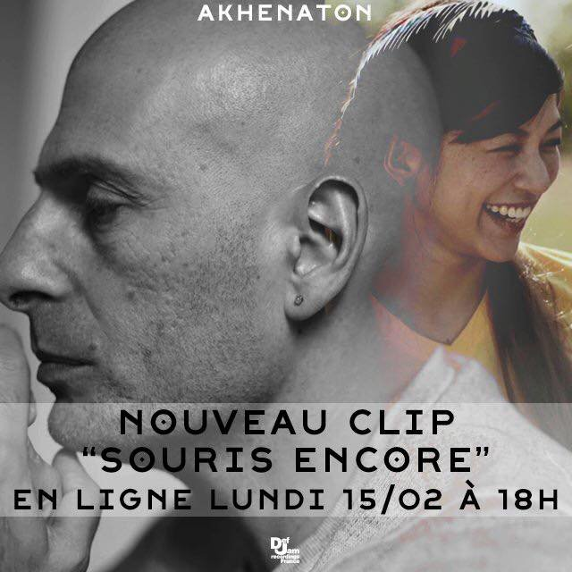 """Découvrez le nouveau clip de Akhenaton """" Souris, encore ... """""""
