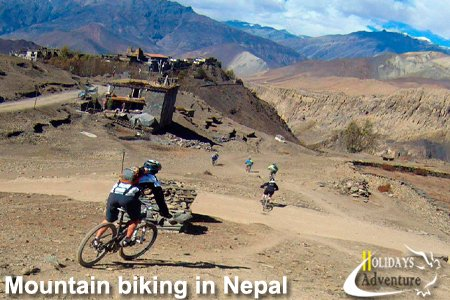 Mountain biking in Nepal, Mountain biking tour in Nepal | Trekking in Nepal, Holidays adventure in Nepal, Trekking and tour operator agency in Nepal