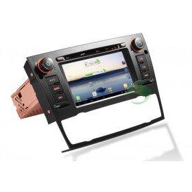 Android 4.0 Auto DVD Player GPS Navigationssystem für BMW E92 3 Series(2005 2006 2007 2008 2009 2010 2011 2012) Coupe (automatische Klimaanlage+beizbarer Sitz)