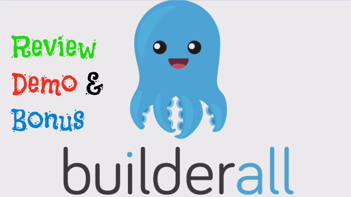 BuilderAll Review - 80% DISCOUNT & HUGE BONUS - BEST JVZOO REVIEW