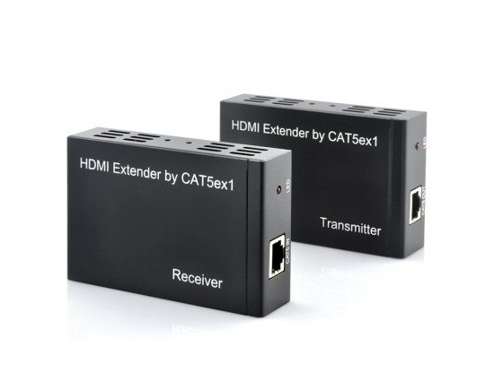 "HDMI Extender ""LINK""- 100m Range, 1080p, IR Re-Transmitting, CAT5E/6 Cable Data Connection - Best Sellers - ahappymango.com"