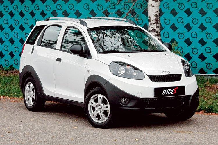 Car: китайский переднеприводник Chery IndiS