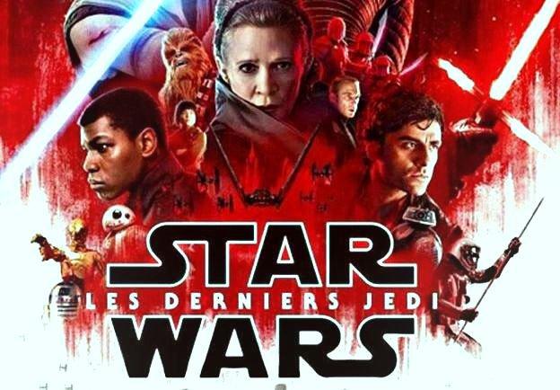 Star Wars Les Derniers Jedi  MP4 AC3 R6 région asie
