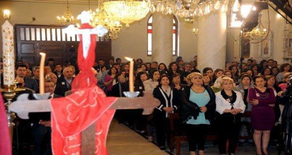 Célébrations des Pâques en Syrie – Damas
