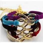 Bracelet infini de couleur