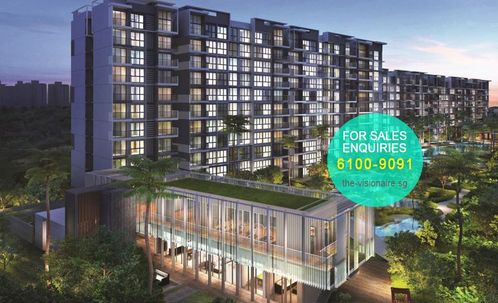 The Visionaire EC – Customizable and Smart Condos for a Modern Lifestyle.