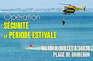 Opération Sécurité en période estivale 2014 - Mardi 8 juillet 2014 à 14h30 à Quiberon / Evènements / Actualités / Accueil - Les services de l'État dans le Morbihan