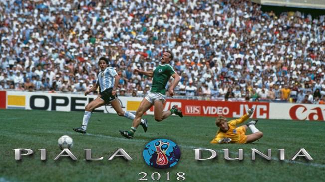 Gol Burruchaga Menyelamatkan Argentina Di Final Piala Dunia 1986 – Piala Dunia 2018