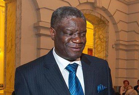 Denis Mukwege, gynécologue à Bukavu dans l'Est de la RDC, rescapé d'une tentative d'assassinat