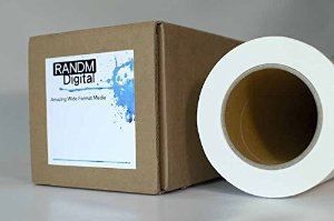 Amazon.com : 11oz Scrim Vinyl Banner Matte - Water & UV Resistant - For Inkjet/Pigment, Dye, Latex and UV Printers, HP360, HP L25500, HP L26500, HP z6100/6200, HP z3100/3200, HP T120, HP T520, Epso...