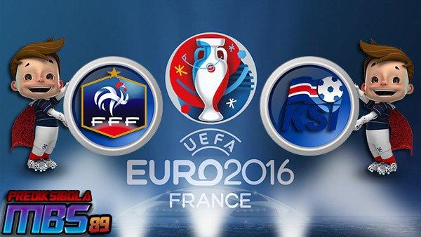 Prediksi Prancis vs Islandia 04 Juli 2016