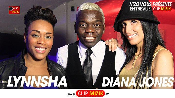 Diana Jones et Lynnsha sur www.clip-mizik.tv