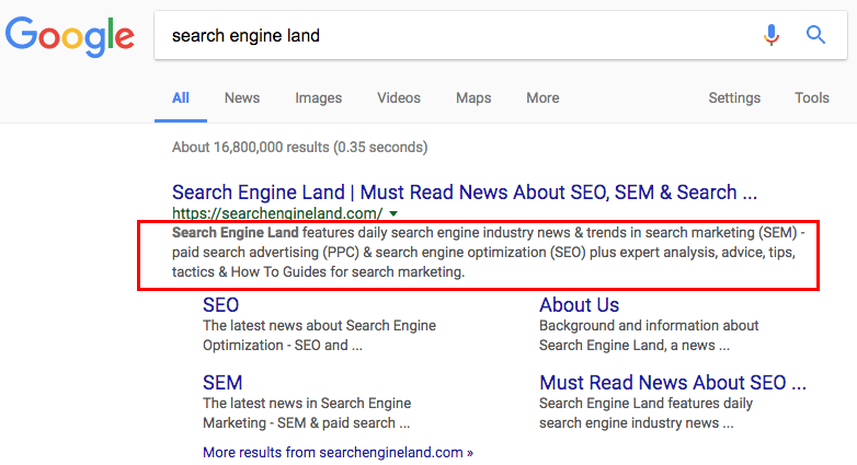 Google: Fundamentals of writing Meta descriptions don't change with longer search snippets
