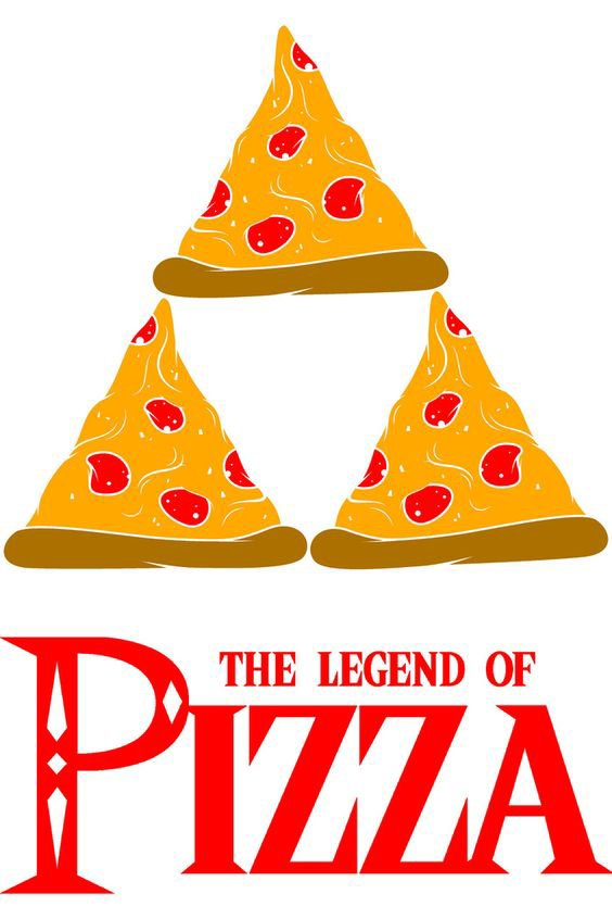 Legend of Pizza Art Print