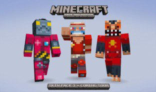 Minecraft 360: Le 3ème pack de skins en images