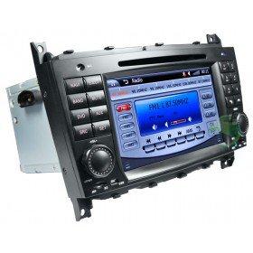 Auto DVD Player GPS Navigationssystem für Mercedes-Benz C-Klasse W203(2004 2005 2006 2007)