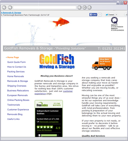 GoldFish Removals & Storage