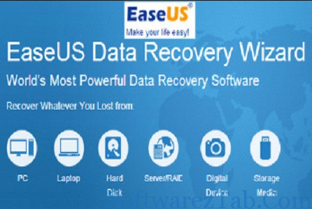 EaseUS Data Recovery Wizard 10.8 Crack, License Code - SoftwarezTab