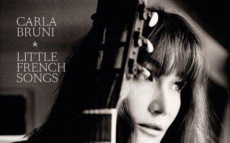 """Carla Bruni dévoile et commente les chansons de son nouvel album """"Little French Songs"""" dans Laissez-vous tenter le 29-03-2013 sur RTL."""