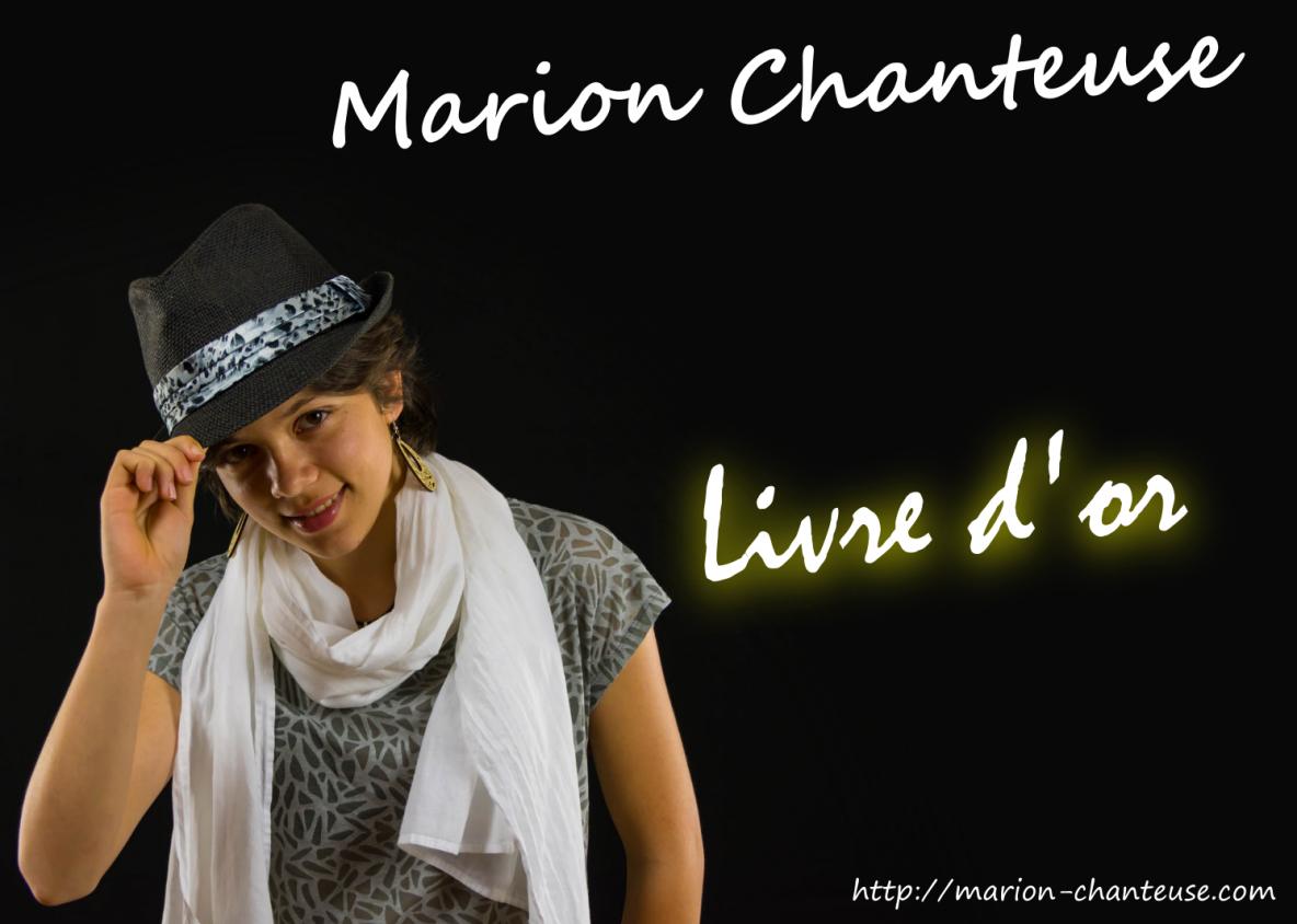 Livre d'or de Marion Chanteuse