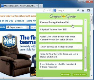 Coupon Genie Removal – How To Remove Coupon Genie Easily From Your PC « MyGoodPC.com