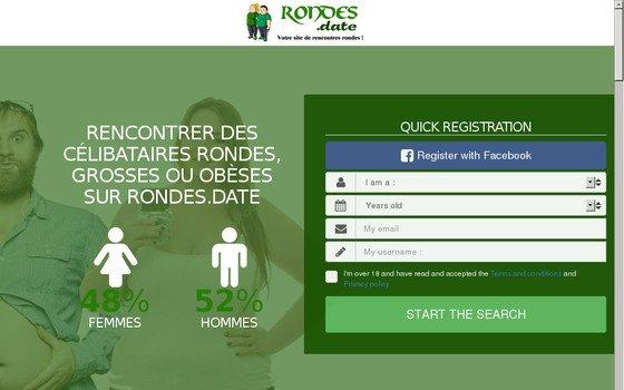 Site de Rencontres Rondes, Gros et Obèses