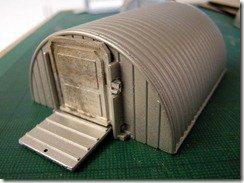 Iron Mammoth's Studio: Model Making: Quick and Easy Wargames Terrain No.1 - 15mm Scale Nissen Huts