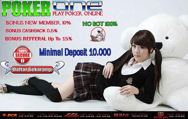 Tempat Main Live Poker Uang Asli Modal Minimal