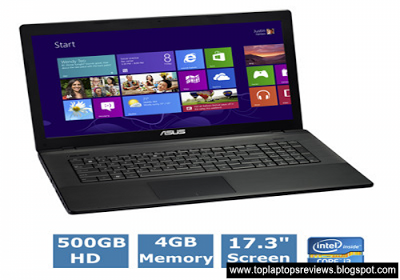 Top Laptops Reviews: ASUS-X75A