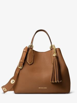 Brooklyn Large Leather Satchel | Michael Kors -€495,00