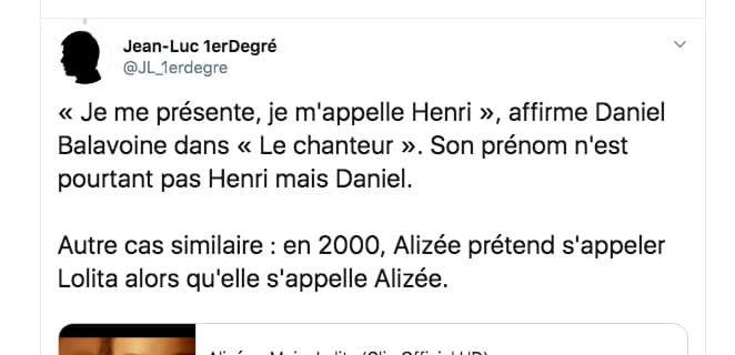 Jean-Luc Premier Degré, il décortique les chansons françaises et c'est à mourir de rire !