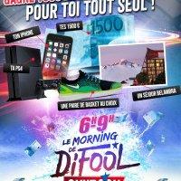 Super Morning de Difool : Gagne tous les cadeaux du morning