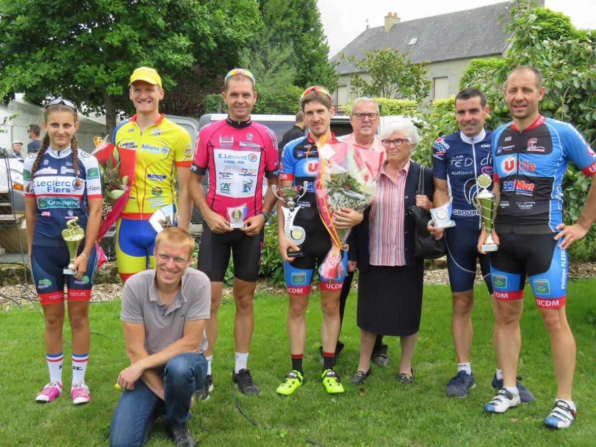 Article Normandie Cyclisme ST MARTIN DE LANDELLES