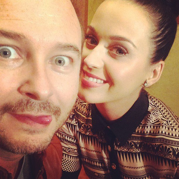 cauet et katty perry