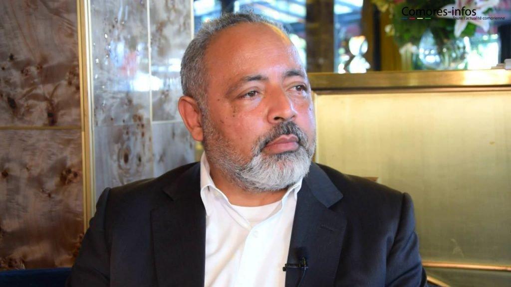 Flash info : Fahmi Said Ibrahim est arrivé aux Comores | Comores Infos